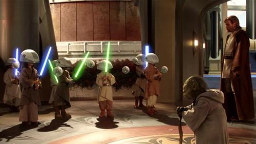 Создание группы Jedi Apprentice