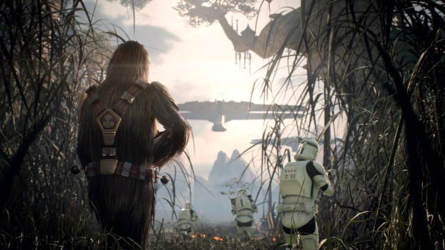 Трейлер и геймплей Battlefront II на EA Play 2017