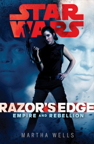 Обложка к Razor's Edge Марты Уэллс