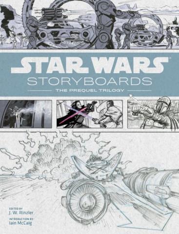 Star Wars Storyboards раскрывает тайны сценариев приквелов